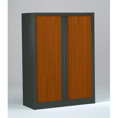 Armoire à rideaux PP 43x120x136 cm - Rideaux décor bois