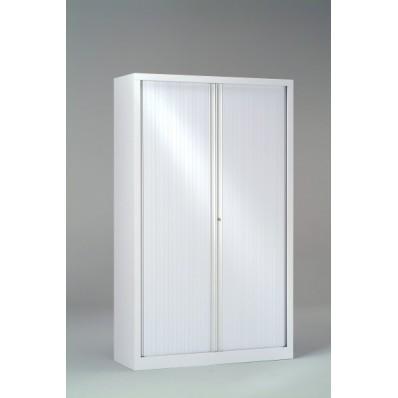 Armoire basse à rideaux PP 43x100x136 cm
