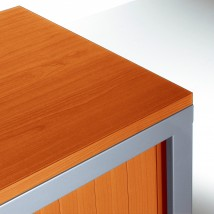 Top de finition pour armoire largeur 100 cm