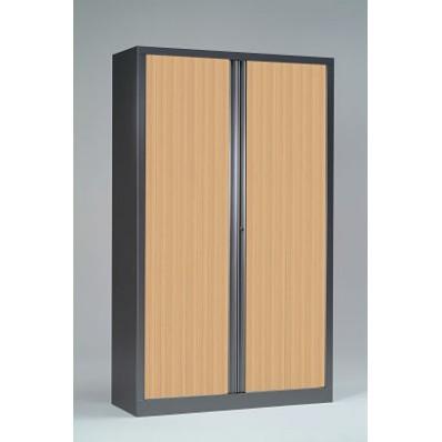 Armoire à rideaux 198x100 - Rideaux décor bois