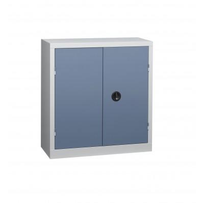 Armoire d'atelier à portes battantes 100x100x53