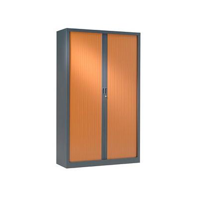 Armoire à rideaux 198x120 - Rideaux décor bois